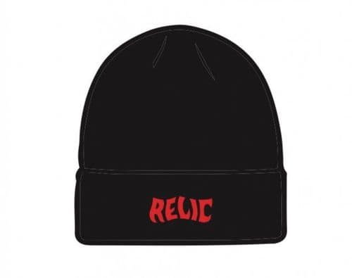 Relic Stoned Beanie Black/Red